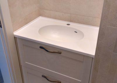Vonios baldų stalviršis Corian, Hanex, Hi Macs, Dirbtinis lietas akmuo-10